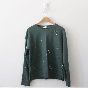 Hem & Thread Embroidered Sweater L1210
